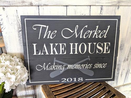 18x24 Lake House