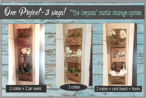 The Greyson storage system