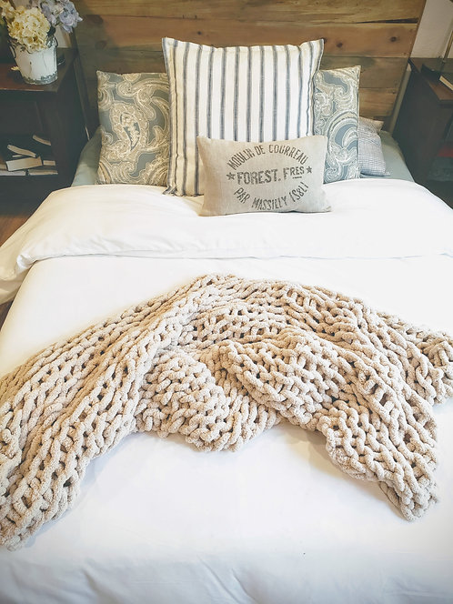 DEC 18 Chunky Blanket Workshop