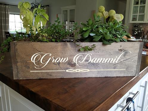 Planter (grow dammit)