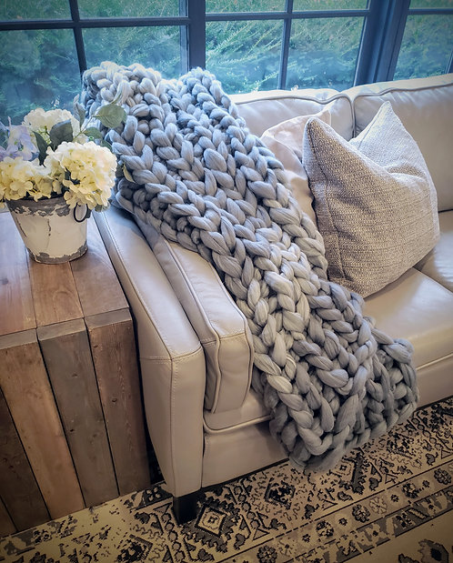 Jan 25th Super Chunky Blanket Workshop 11:30am