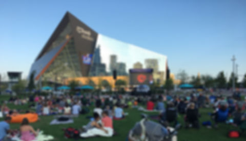 Freesytle Productios provides support for movies it the park at US Bank Stadium