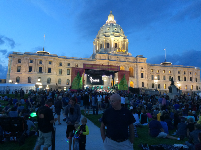 Minnesota State Capitol Reopening