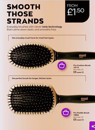 Selection of Hair Brushes
