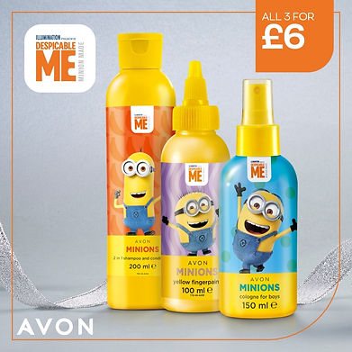 Kids bathtime toiletries