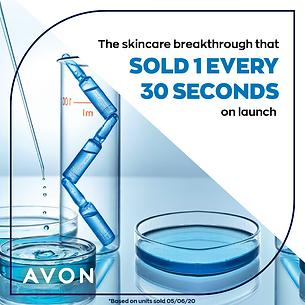 Avon Skin reset plumping shots