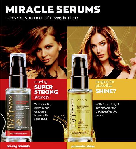 Avon Hair products
