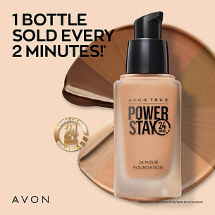 Avon powerstay foundation