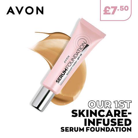 New Avon Skincare infused Serum Foundation
