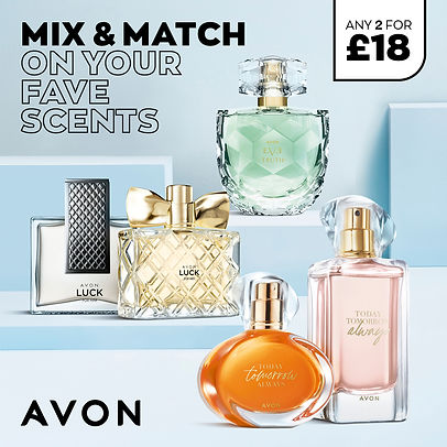 Any 2 perfumes for £18 from selection
