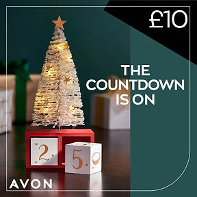 Avon Christmas tree