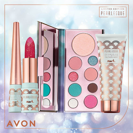 Avon Pearlesque Makeup