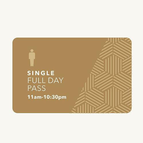 Full Day Pass (GST $62.06)