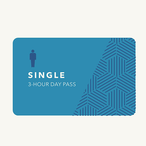 3-Hour Day Pass (GST $40.66)