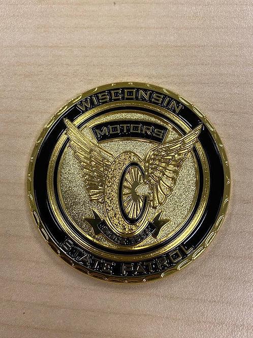 WSP Motor Officer Challenge Coin
