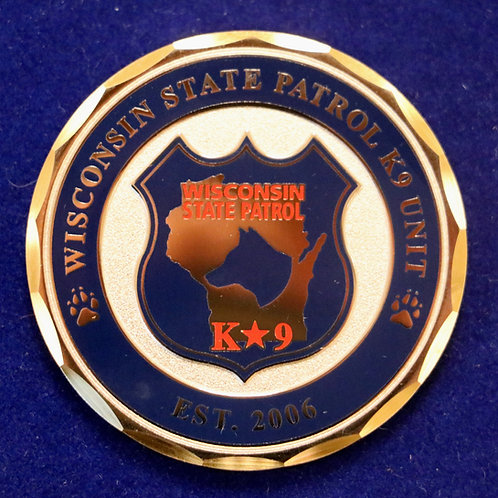 WSP K-9 Challenge Coin