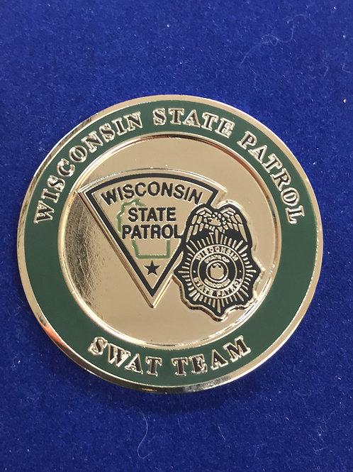 WSP SWAT Challenge Coin