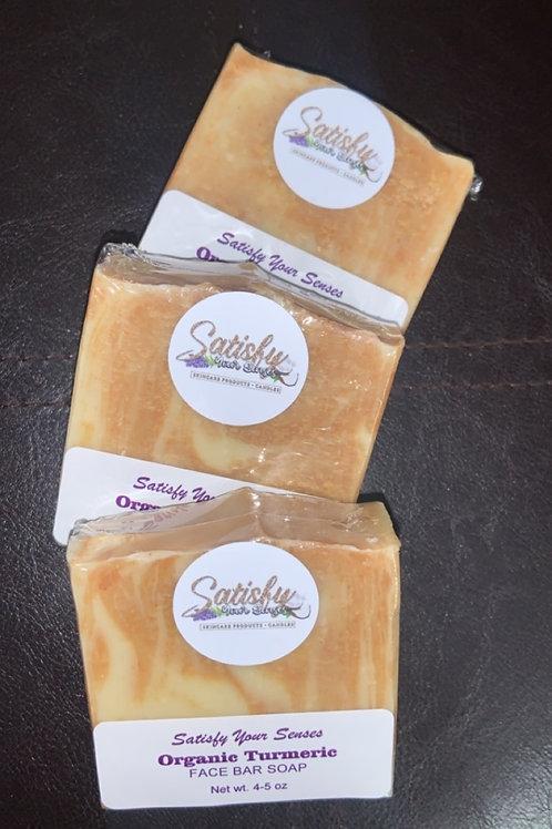 Organic Turmeric & honey soap (unscented)