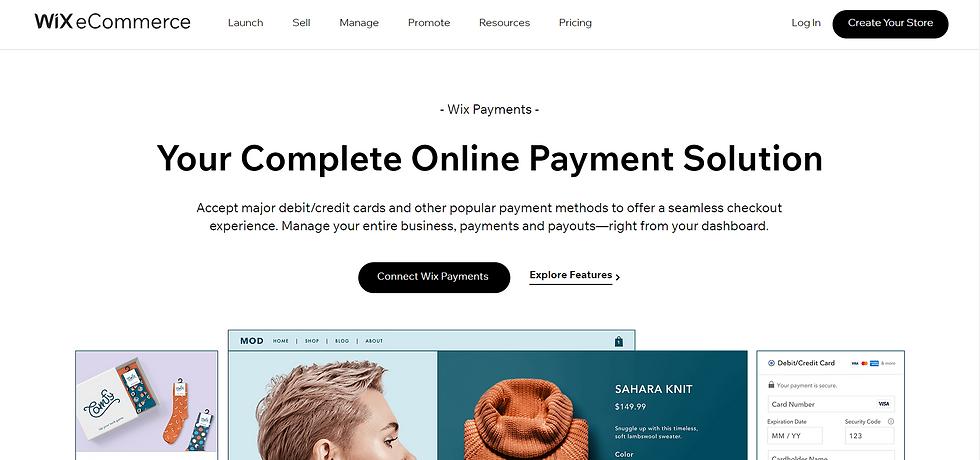 wix internetinių parduotuvių atsikitymo sprendimai
