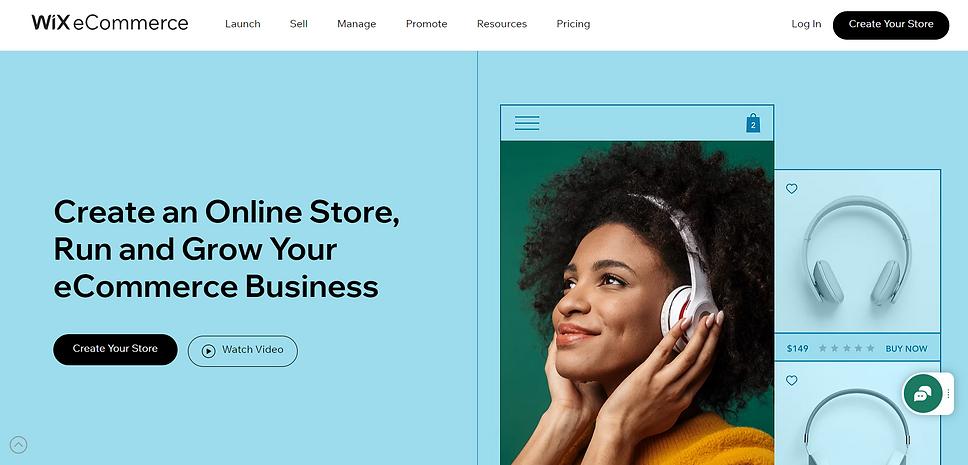 wix elektoninių parduotuvių kūrmo įrankis
