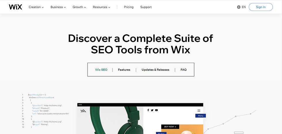 wix seo optimizavimo įrankis