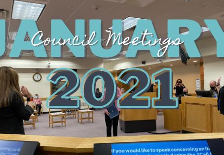 January 2021 at City Hall