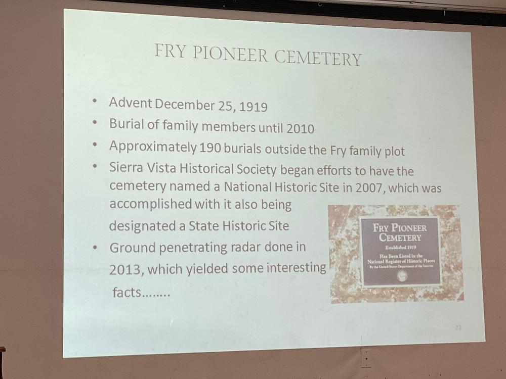 About Fry Pioneer Cemetery