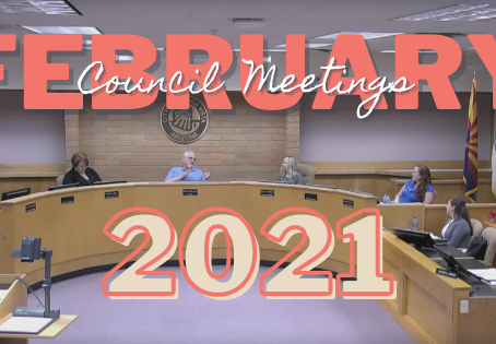 2nd Half of February 2021 at City Hall
