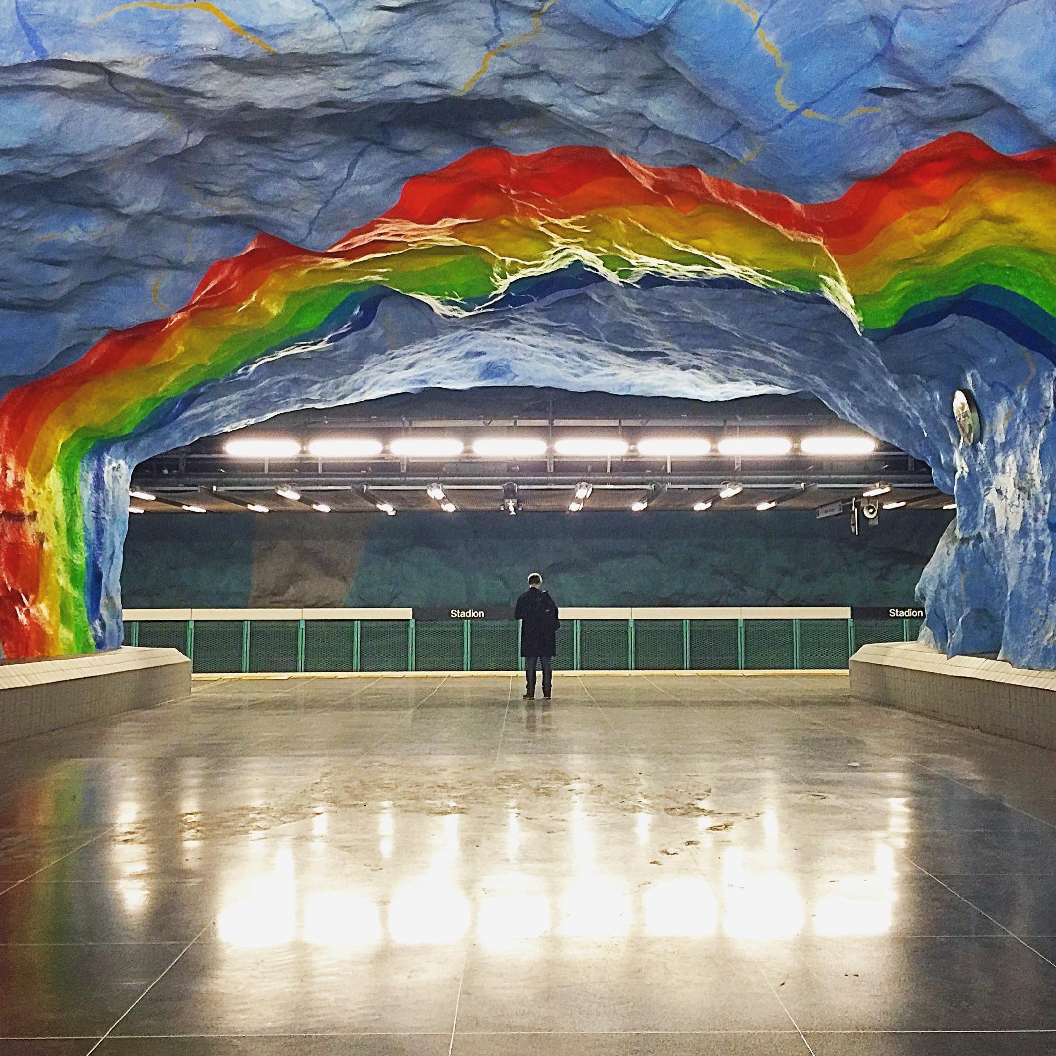 瑞典 斯德哥爾摩地鐵站
