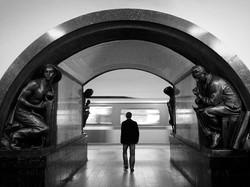 俄羅斯 莫斯科地鐵站