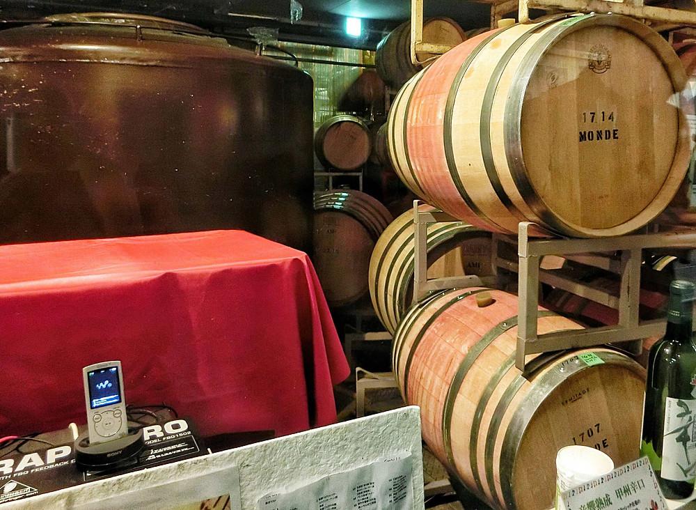 monde shuzo, fuefuki, winery, yamanashi, japan, wine, music, tourism, travel, trip