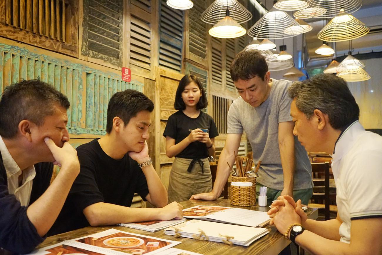 ベトナム飲食店における市場調査