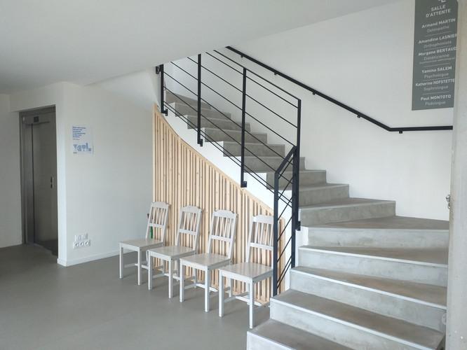 escalier/ascenceur