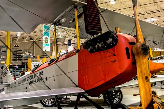 Hall Flying School Bi-Plane