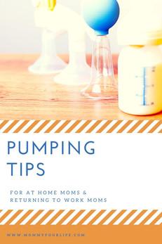 Pumping Tips: At Home & At Work