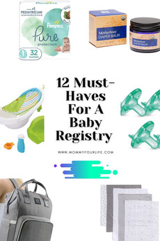 12 Must-Haves For A Baby Registry