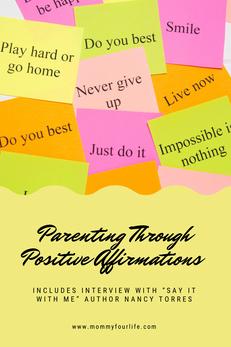 Parenting through Positive Affirmations