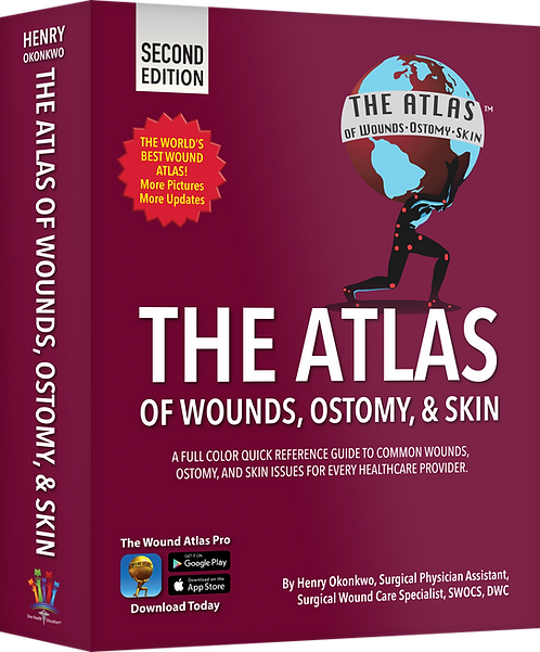 The Atlas of Wounds, Ostomy, & Skin® 2nd Edition