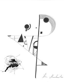 Abstract man 1
