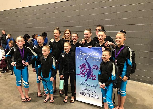 Congratulations Gymnastiks Unlimited Lev