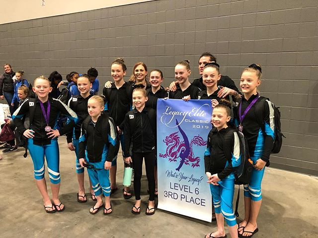 Congratulations Gymnastiks Unlimited Lev