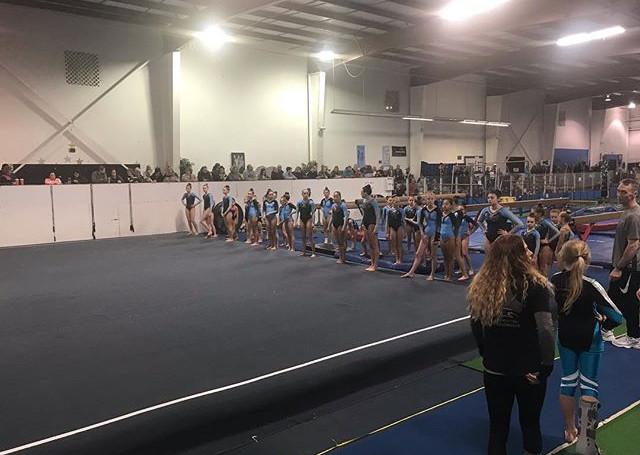 Gymnastiks Unlimited Team Mock Meet 2018