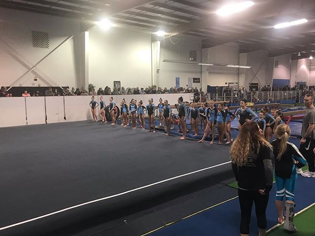 Gymnastiks Unlimited Team Mock Meet 2018