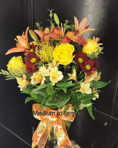 Fall Designers Choice Bouquet