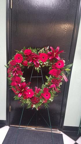 Heartfelt Sympathy Wreath