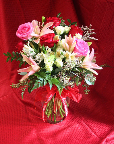 Rose & Lily Arrangement