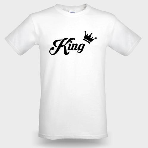 T-SHIRT KING ROUND-NECK