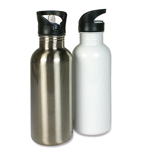 Edelstahl-Trinkflasche, 400 ml
