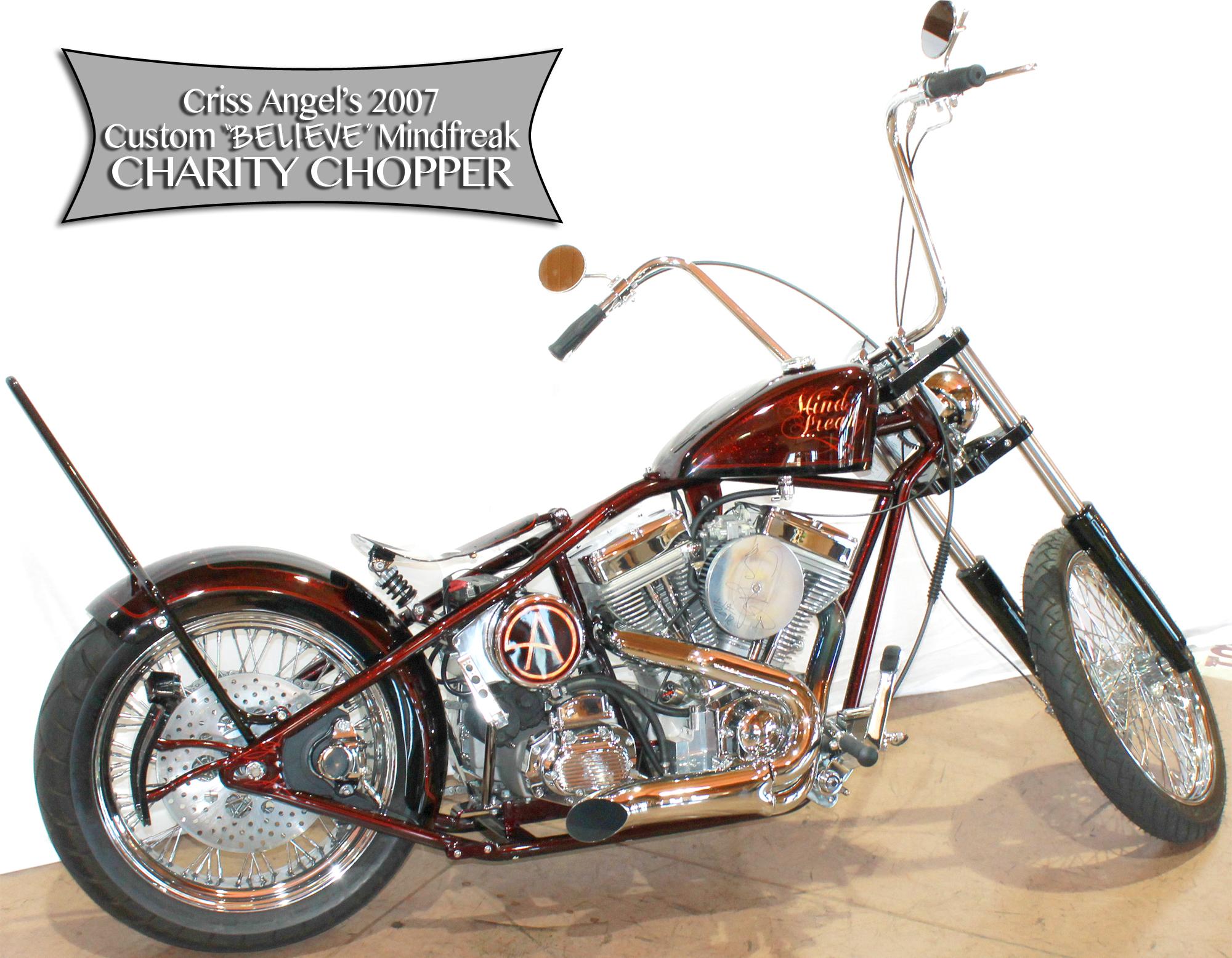 2007 Criss Angel Custom Bobber