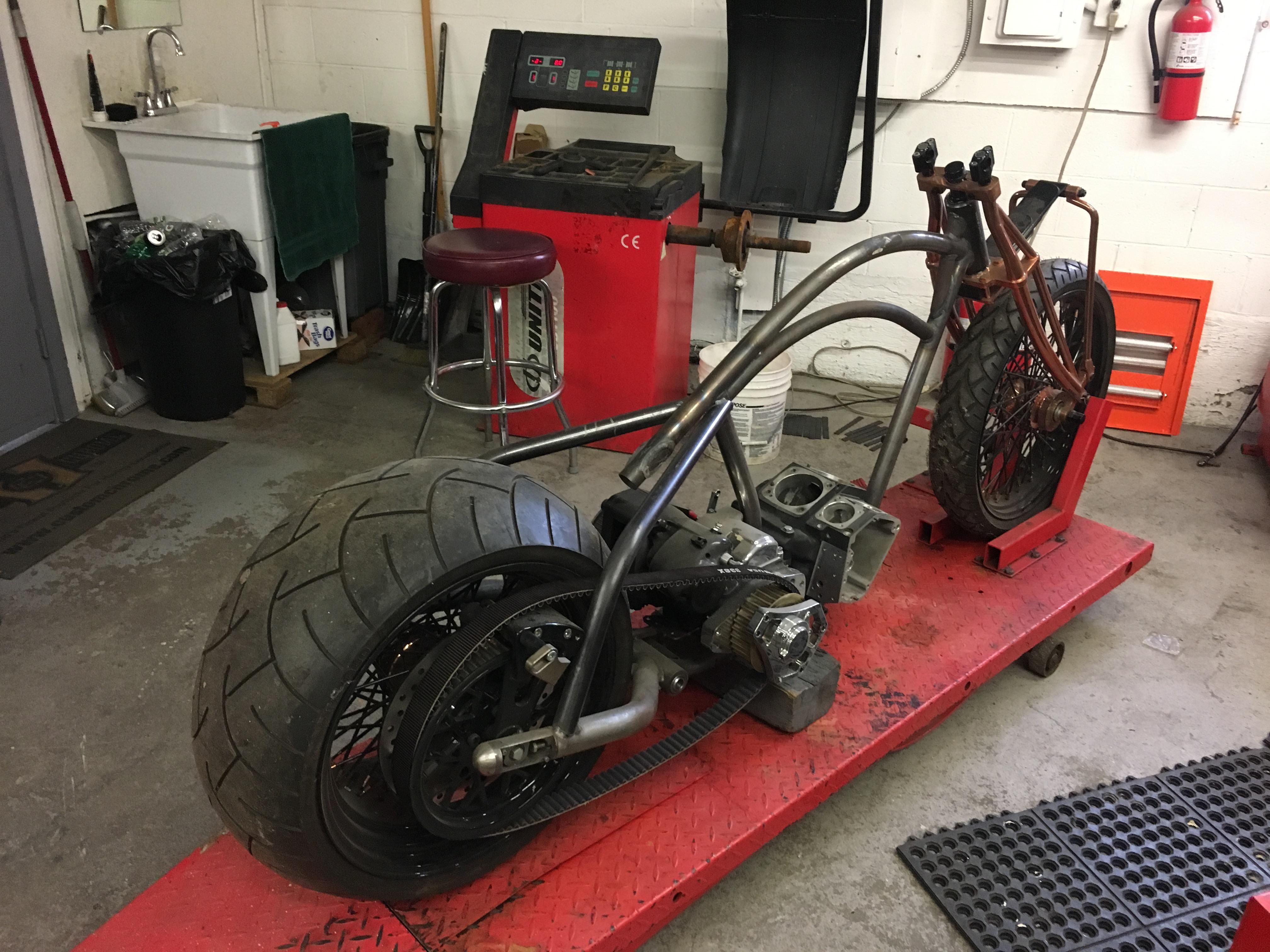 2018 Custom Track Bobber